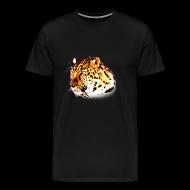 T-Shirts ~ Men's Premium T-Shirt ~ Leopard