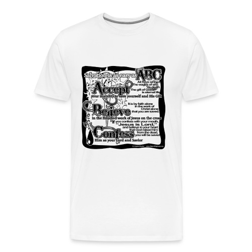 A,B. C T-Shirt - Men's Premium T-Shirt