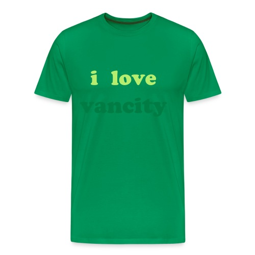 I love Vancity Tee - Men's Premium T-Shirt