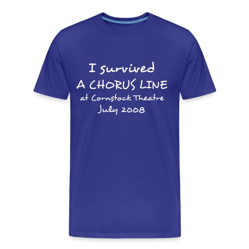 I survived A Chorus Line - Men's Premium T-Shirt