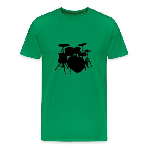 Drum Silluette Shirt - Men's Premium T-Shirt