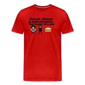 Silent Killers - Men's Premium T-Shirt
