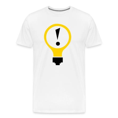 Bright Idea Tee (no URL) - Men's Premium T-Shirt