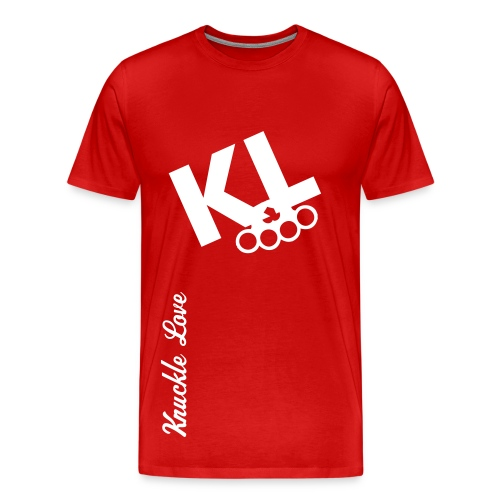 Knuckle Love KL T - Men's Premium T-Shirt