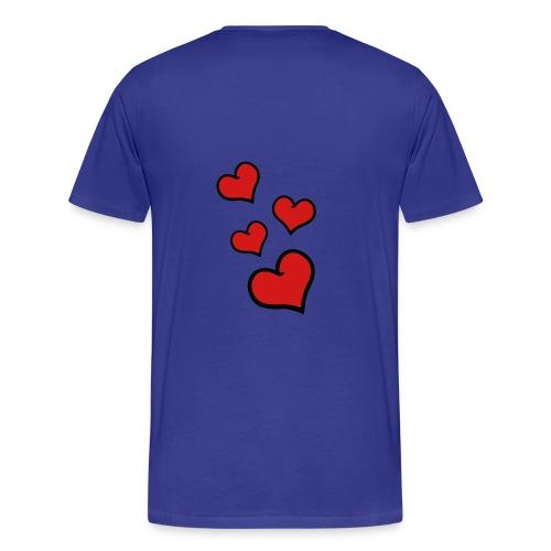 Hearts all around - Men's Premium T-Shirt