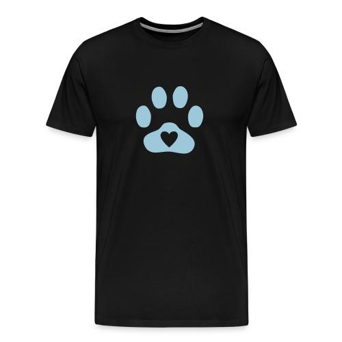 Pawprint - Men's Premium T-Shirt
