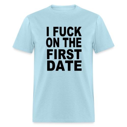 1st date - Men's T-Shirt