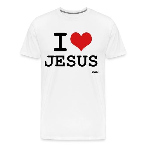 iheartjesus - Men's Premium T-Shirt