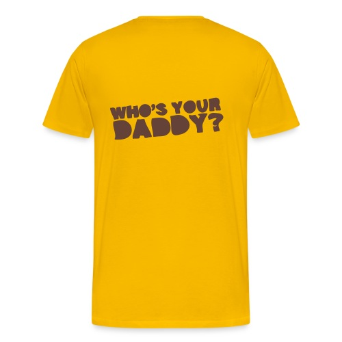 Who's Your Heavy Shirt - Men's Premium T-Shirt