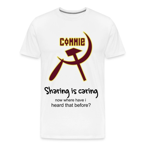Communist - Sharing is caring - Men's Premium T-Shirt