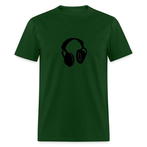 DJ Headphones - Men's T-Shirt