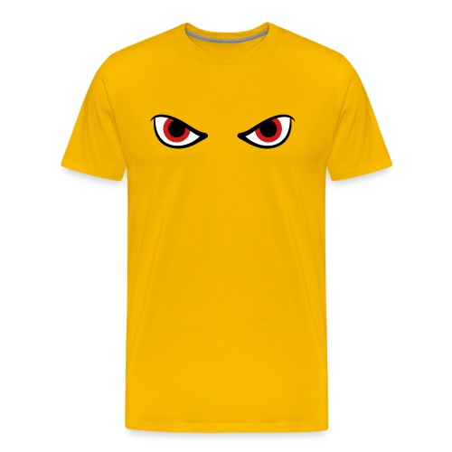 Angry Eyes T Shirt - Men's Premium T-Shirt