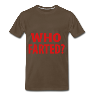 T-Shirts ~ Men's Premium T-Shirt ~ who farted