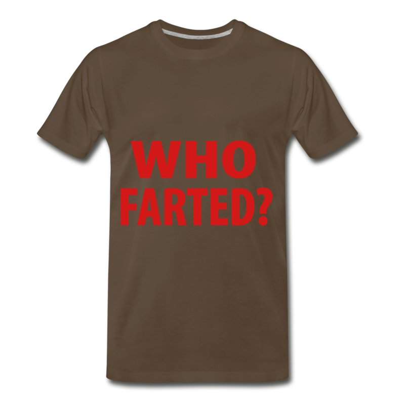 who farted - Men's Premium T-Shirt