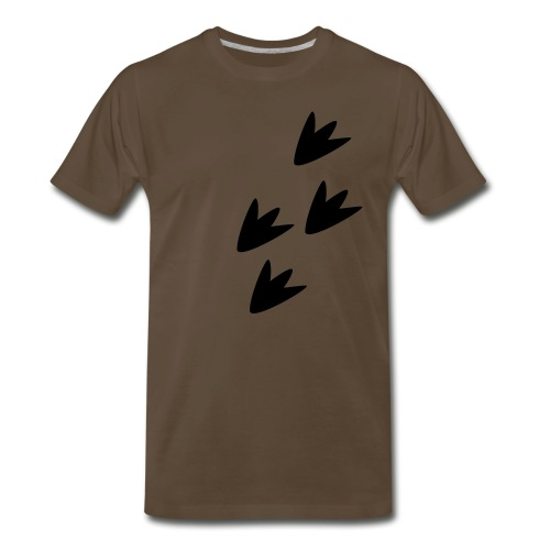 Dino Tracks - Men's Premium T-Shirt