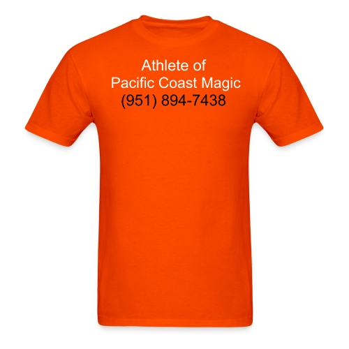 Athlete Orange - Men's T-Shirt