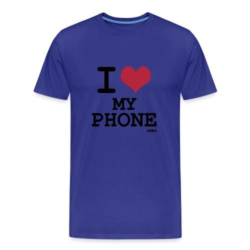 Amo mi teléfono - Men's Premium T-Shirt