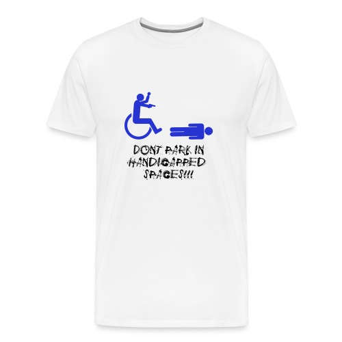 Crippled - Men's Premium T-Shirt