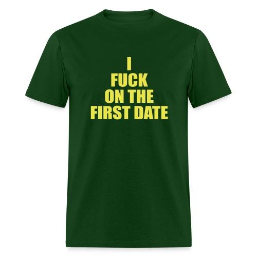 IFuck Green/Yellow - Men's T-Shirt