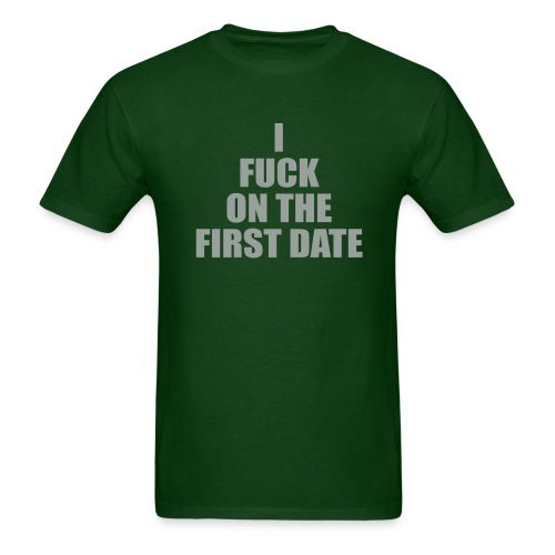 IFuck Green/Grey - Men's T-Shirt