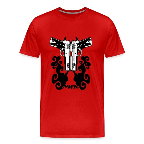 twin guns - Men's Premium T-Shirt