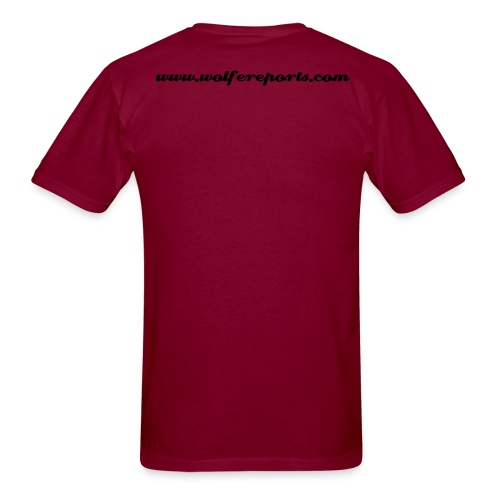 Carolina Wolfe T - Men's T-Shirt