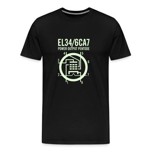 EL34 Glowing T-Shirt - Men's Premium T-Shirt