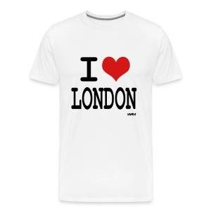 I lov london Men's T-shirt - Men's Premium T-Shirt