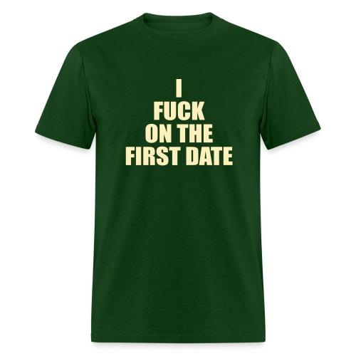 IFuck Green/Cream - Men's T-Shirt