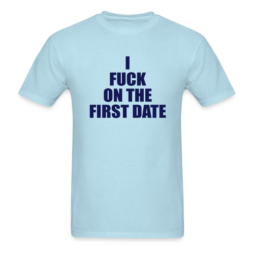 IFuck Sky/Navy - Men's T-Shirt