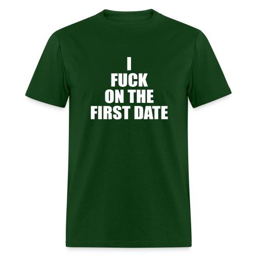 IFuck Green/White - Men's T-Shirt
