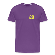 T-Shirts ~ Men's Premium T-Shirt ~ Purple Jesus - Men
