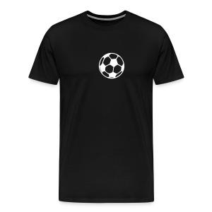 Football Heart - Men's Premium T-Shirt