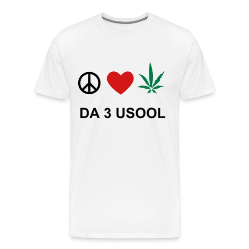 3 USOOL - Men's Premium T-Shirt