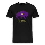 T-Shirts ~ Men's Premium T-Shirt ~ Tatonka - The Black Shirt