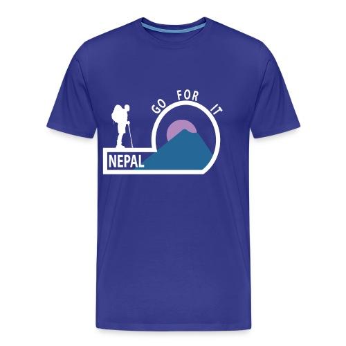 Nepal  Men's T-Shirt  - Men's Premium T-Shirt