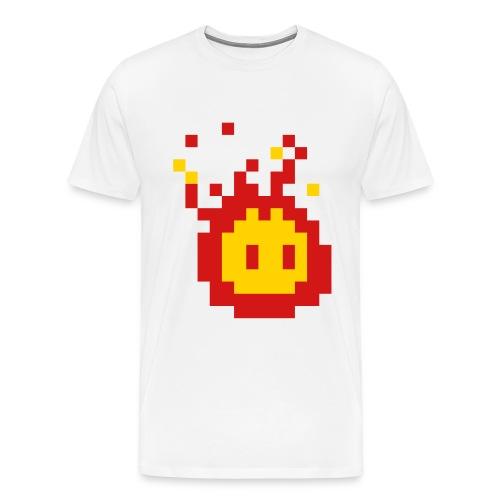 Oil Can Fire - Men's Premium T-Shirt