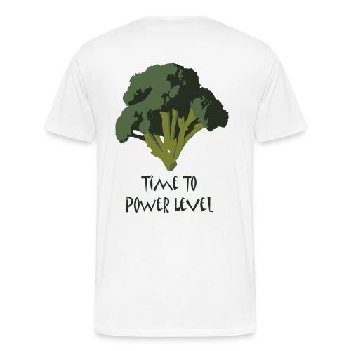 Time to Power Level - Men's Premium T-Shirt