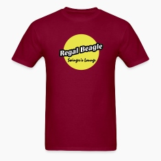 Burgundy Regal Beagle Lounge T-Shirts