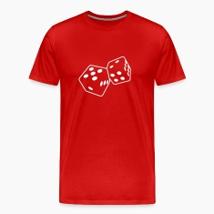 Red dice 1 T-Shirts