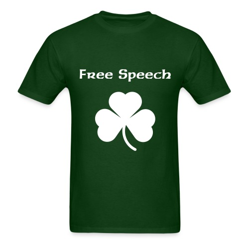 Free Speech (Men's T-Shirt) - Men's T-Shirt