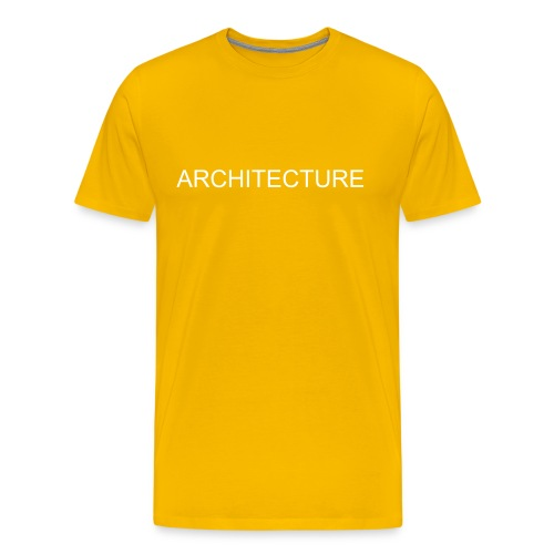 ARCHITECTURE KICKS BUTT - Men's Premium T-Shirt