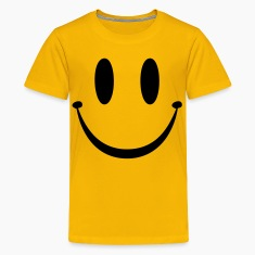 Yellow Smiley Face Kids' Shirts