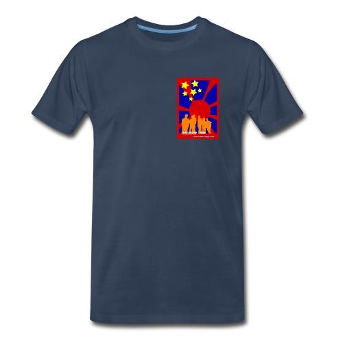2009 and beyond (men's chest print) - Men's Premium T-Shirt