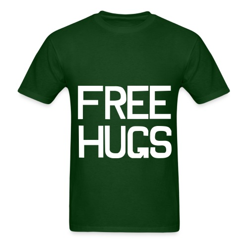 Free hugs unsexed t-shirt. - Men's T-Shirt