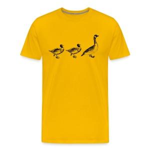 Duck Duck Goose - Men's Premium T-Shirt