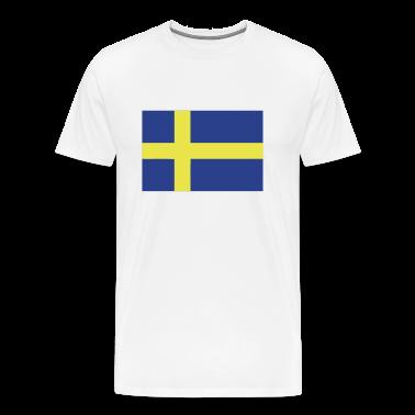 White sweden T-Shirts