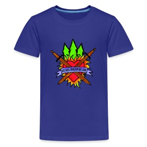 Kids' Bay Area Shakespeare Camp Color Logo Color Tee - Kids' Premium T-Shirt