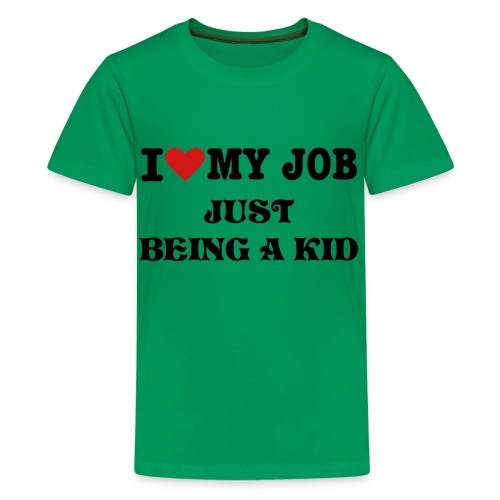 KID @ WORK - Kids' Premium T-Shirt