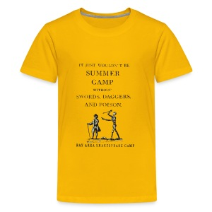 Kids' Swords, Daggers, & Poison Basic Tee - Kids' Premium T-Shirt